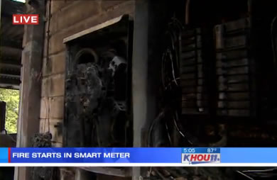 Texas: Houston Woman Blames Smart Meter for House Fire